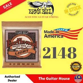 Ernie Ball 2148 PB Acoustic Guitar Strings, 11-52