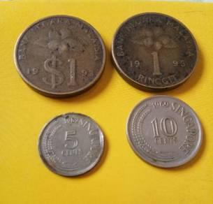 Syiling lama Malaysia & Singapore.