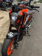 2nd KTM DUKE 200 EVO S WITH EXHAUST