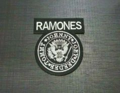 Patches RAMONES Embroidered Sew Iron Patch LOGO HA