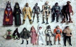 Lot L15A. Loose 3.75 inch Star Wars Figures