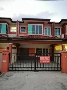 Double Storey Intermediate House for Rent (UniGarden, Kota Samarahan)