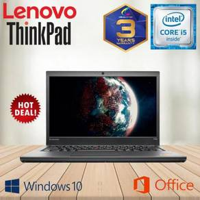 LENOVO THiNKPAD T440s CORE I5 [ 3 YEARS WARRANTY ]
