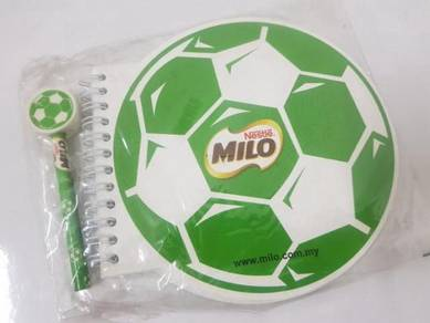 Milo Notebook collection with MILO pen