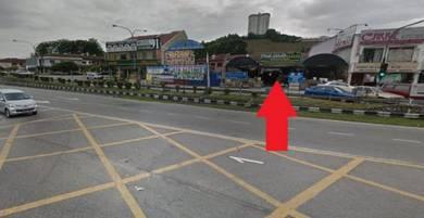 4480sf commercial land : Taman Bukit Mewah , Kajang (Facing Main Road)