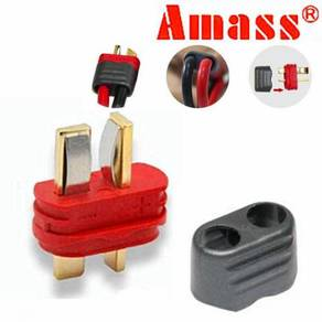 Amass Sheathed T-Plug Dean Male (For ESC) A-TE