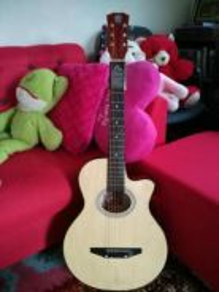 Gitar akustik full set(baru)