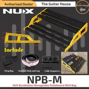 NUX NPB-M Bumblebee Manageable Pedalboard With Bag