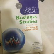 IGCSE Business Studies revision guide