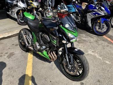 2013 Kawasaki Z800 Z 800 Low Mileage .