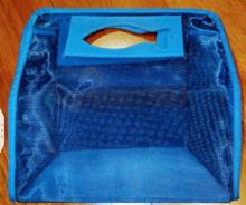 Kenzo blue mesh bag