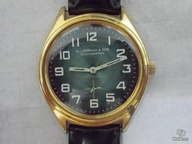 Vintage WJ Cornish and son watch