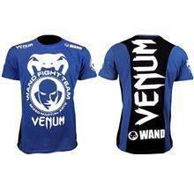 UFC MMA VENUM Blue Wand Shirt (Body Fit Elastic)
