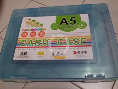 Hard Plastic Card Case