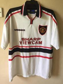 Authentic Manchester United 97/99 away Beckham 7