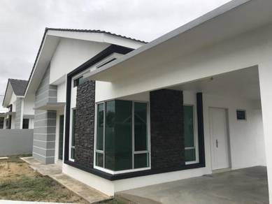 Semi-d 1 storey for rent, Kemaman