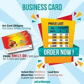 Bisnes Kad / Business Card Murah