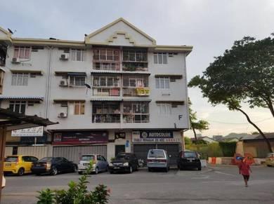 Taman Pusat Kepong corner Apartment
