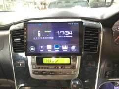 Toyota alphard oem android player 9