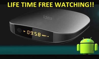 H0T IPTV Lifetime Android TV BOX HD 4K