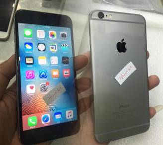 Iphone 6+ 6plus 128gb second 2nd hand used set ori