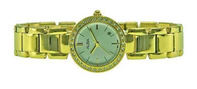 Alba Ladies Swarovski Crystal Watch VJ22-X182SGG