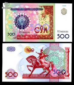 Uzbekistan 500 sum 1999 p 81 unc