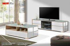 7f glass table& glass coffee table