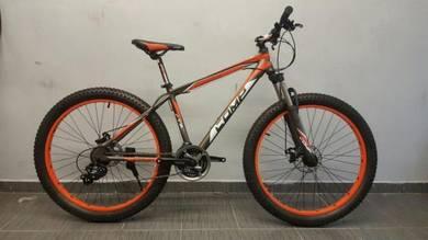 Tire 3.0 comp alloy bicycle 27.5er 24sp orange