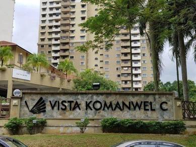 Vista Komanwel C Condo 1424Sf Bukit Jalil RENOVATED 4R4B Below Market