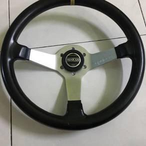 Deep sparco steering itali