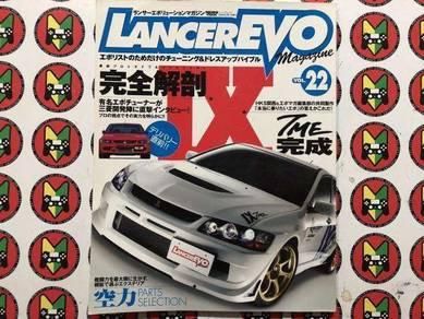 Lancer Evo Magazine Vol.22