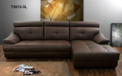 Furniture Italy Leather Sofa With Warranty T3013