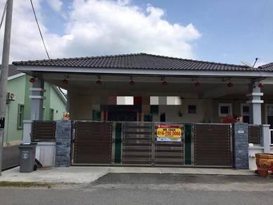 Single Storey End Lot For Sale Tongkang Pecah, Batu Pahat
