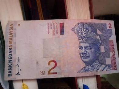 RM 2 tandatangan Gabenor ke-5 Tan Sri Dato Ahmad