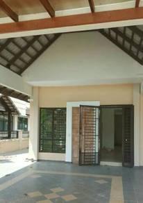 Double storey semi-detached house . Batu Pahat