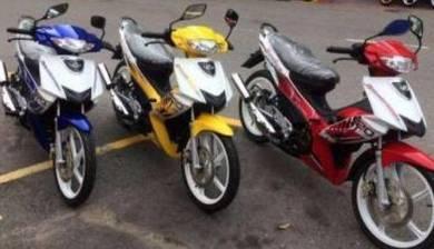 Modenas dinamik 120 (motor 2t paling murah)