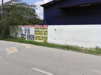 Factory For Rent , Sungai Buloh , Jalan Industri 12