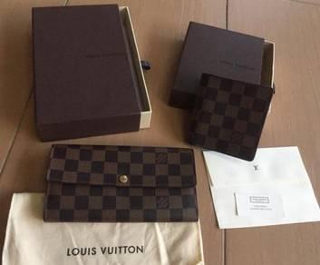 Authentic Louis Vuitton wallet both