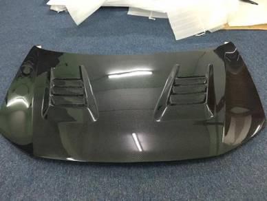 Honda civic FB js racing carbon hood