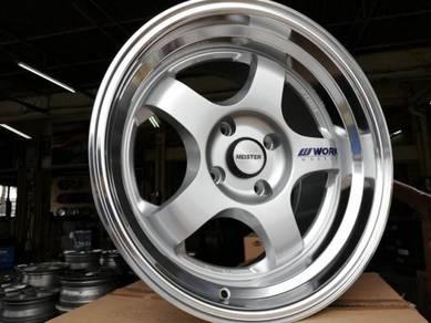 Sport rim work S1 racing 17x9.0jj 4x114.3 big lips
