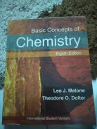 Basic Concept Of Chemistry Eight Edition