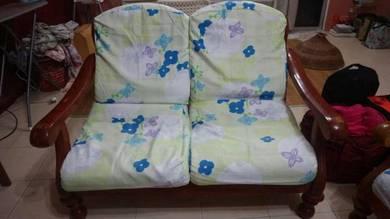 Kerusi/ sofa (3 seat + 2 seat + single seat)