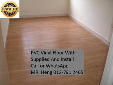 PVC Vinyl Floor - With Install u78ui