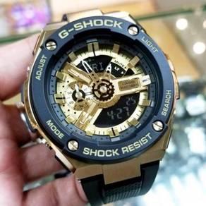 Watch - Casio G SHOCK STEEL GST400G-1A9 - ORIGINAL