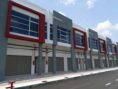 Rembia Freehold Bumi lot 2 storey Industrial Terrace, Alor Gajah