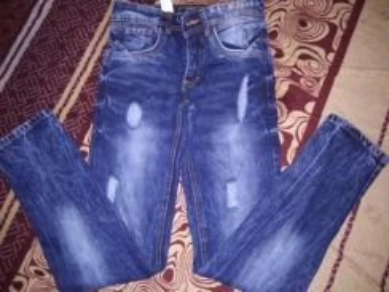 Jeans baru sekali pakai size 27