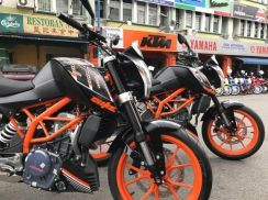 Ktm duke 250 abs (SUPER SAVE)