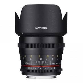 Canon EF Mount Samyang 50mm T1.5 Lens