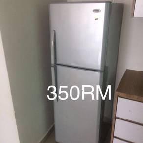 Very good condition fridge & washing machine, Oven